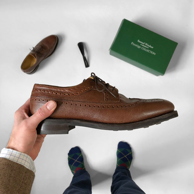 4f69bfb1843d Product Review  Samuel Windsor Prestige Country Brogue ...